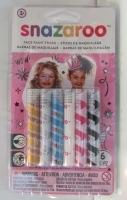 مداد روغنی گریم اسنازارو 6 رنگ دخترانه